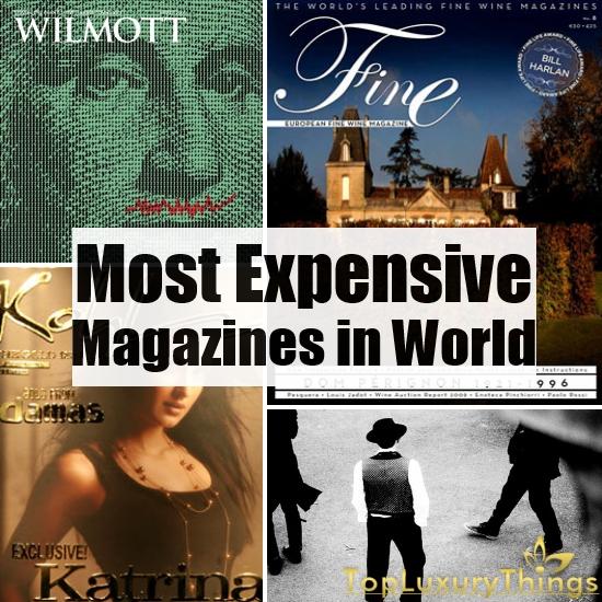 самые дорогие журналы